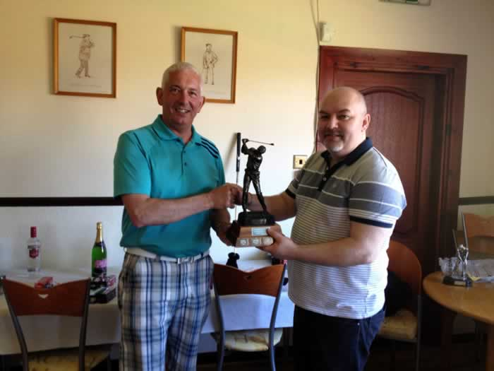 Winner Brian McSkimming