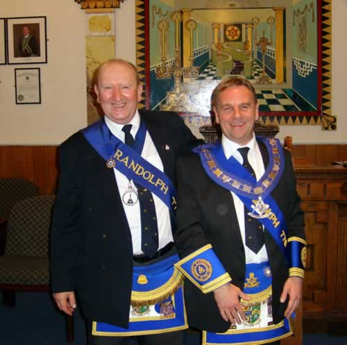 SD and RWM of Lodge Randolph 776